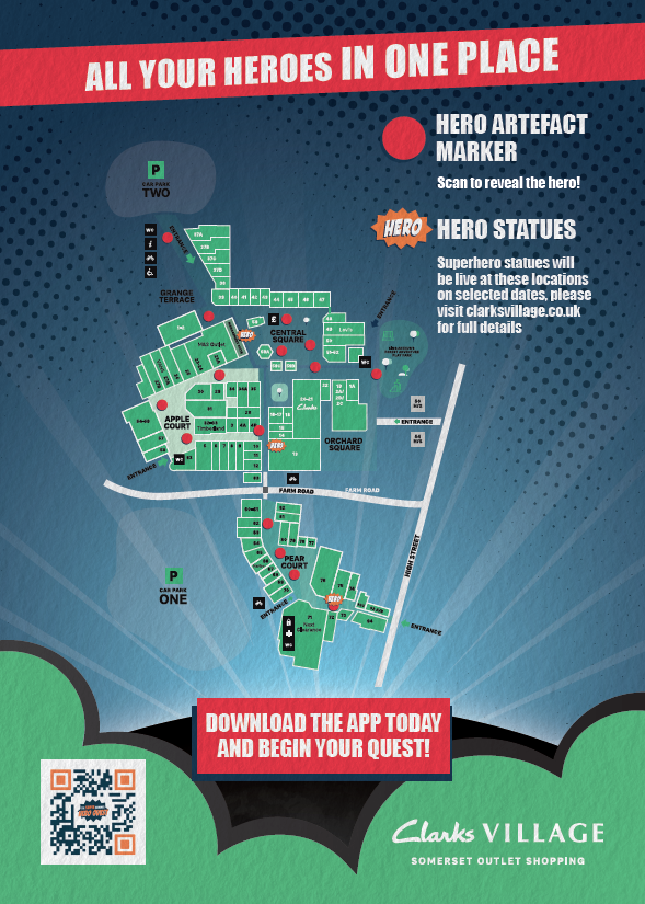 Hero Quest trail map