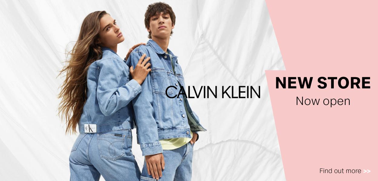 Calvin Klein now open