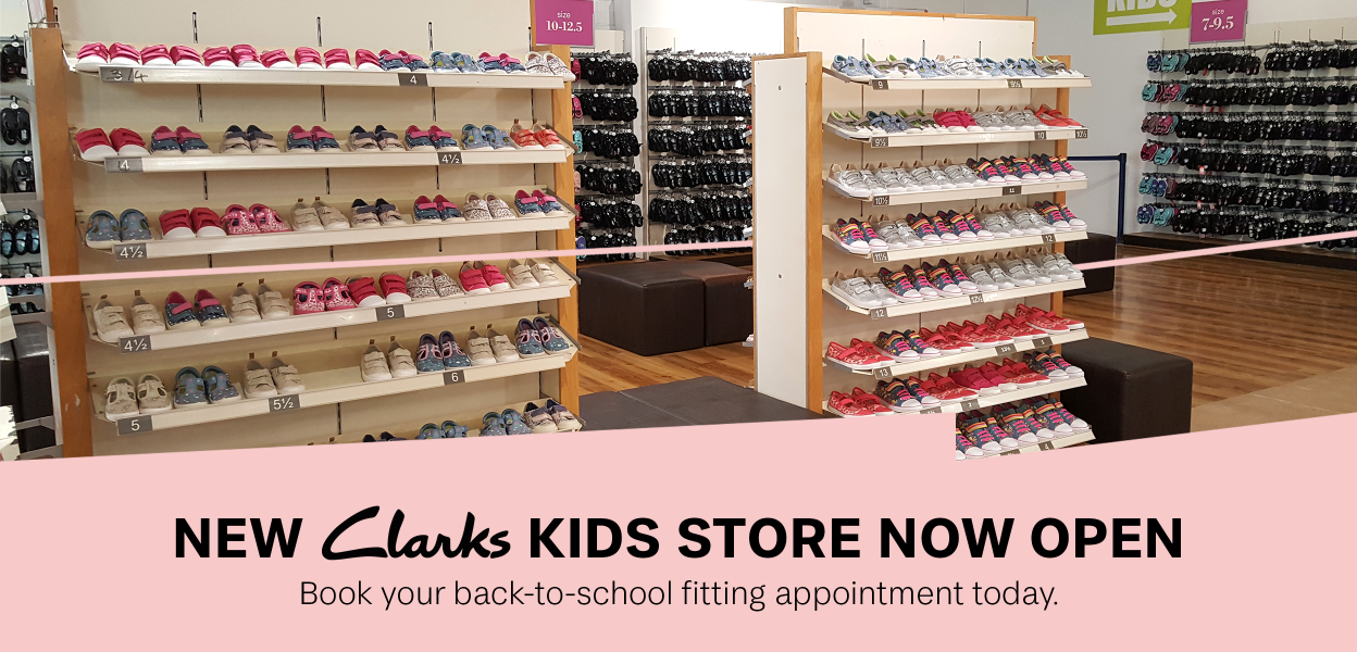 Clarks Kids store reopens