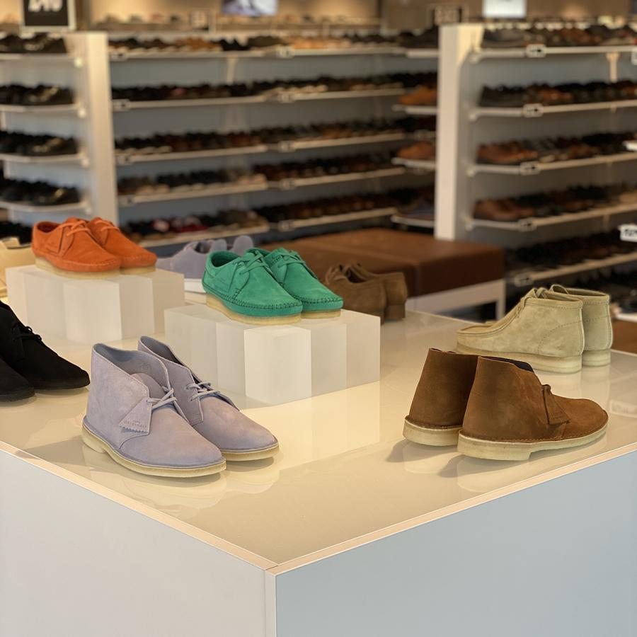 Inside the new Clarks flagship store