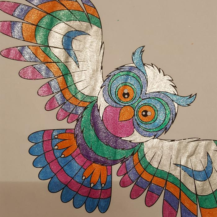 3a3a0b1102f04 Have a hoot with Herbie  Clarks Village s colouring competition - WINNER  announced