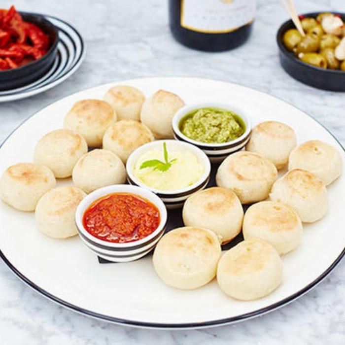 Pizza Express dough balls recipe
