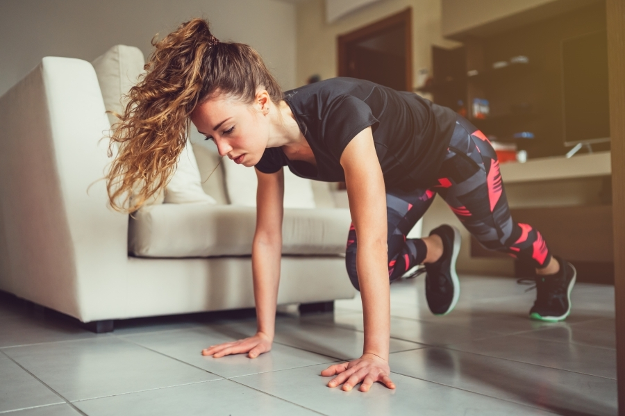 Living rooms workouts