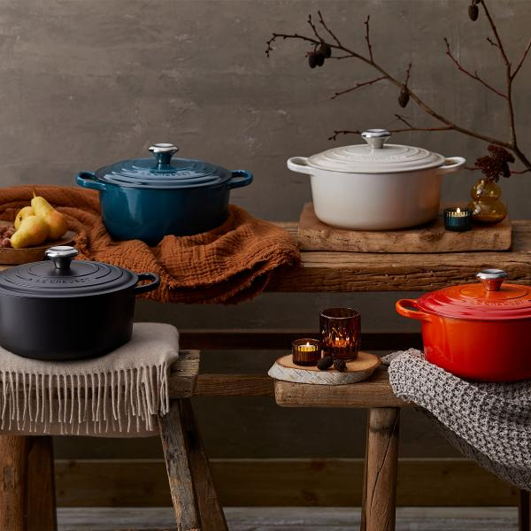 food is love le Creuset