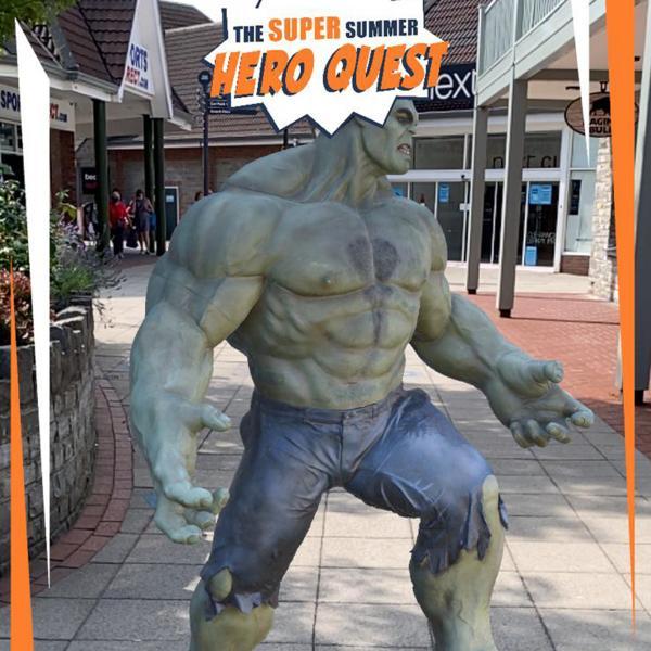The Hulk at Clarks Village