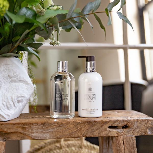 Create a sanctuary at home with Molton Brown's Coco & Sandalwood